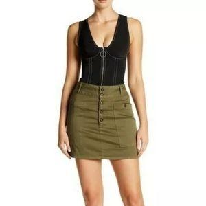 Frame Le Mino Chino Skirt